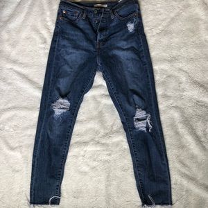 Levi's high waisted wedgie fit jeans